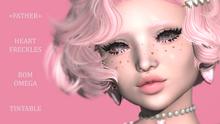 +FATHER+ - Tintable Heart Freckles - BOM/OMEGA/EvoX