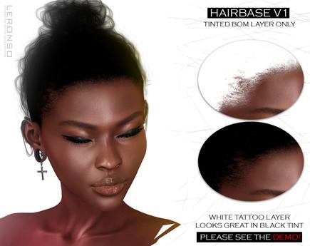 [LERONSO] Hairbase v1 (BOM) tinted