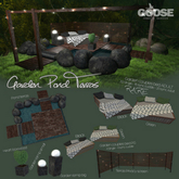 GOOSE - Garden couples bed ADULT green RARE