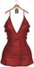 JF Design - Melody Dress/Panty - Red