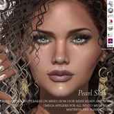 * Kyxe Designs * Realistic Women Skins - Pearl with all the BOM (Backes on Mesh) Compatible + Omega Appliers Includ