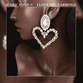 I Love Me Earrings - Fatpack {BR}