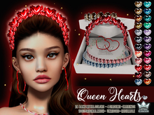 QUEEN HEART JEWELRY COLLECTION [FATPACK] - WHITE QUEEN