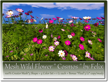 Mesh Wild Flower Cosmos by Felix 5 Shape 1Li +1 Bonus copy-mody