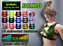 Top for Maitreya,Belleza,Slink,Tonic,eBody-Animated Texture-Model A3-DEMO