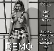 [K-Style] KLOE SKIRT & TOP - DEMO