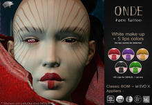 Mad' - Onde FaceTattoo [APPLIERS + LAYERS]