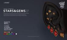 :ANDORE: - :ear-acc: - Stars & Gems [ Catwa PRO ]