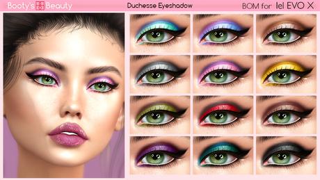 *Booty's Beauty* [Lel Evo X] Duchesse BOM Eyeshadow