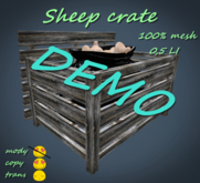 Sheep Crate DEMO *Box*