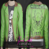*CORDEWA* PUNK JACKET GREEN