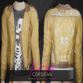 *CORDEWA* PUNK JACKET ORANGE
