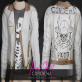 *CORDEWA* PUNK JACKET WHITE