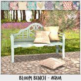 Sequel - Bloom Bench - Aqua