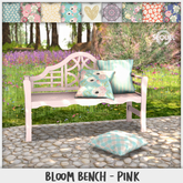 Sequel - Bloom Bench - Pink