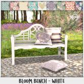 Sequel - Bloom Bench - White