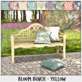 Sequel - Bloom Bench - Yellow