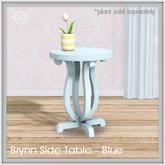 Sequel - Brynn Side Table - Blue