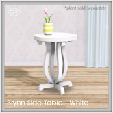Sequel - Brynn Side Table - White