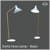 Sequel - Greta Floor Lamp - Blues