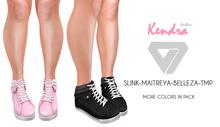 ILLI - [SLink,TMP,Maitreya,Belleza] Kendra Leather Sneakers (HUD Driven)
