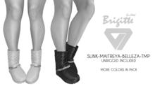 ILLI - [SLink,TMP,Maitreya,Belleza] Brigitte Quilted Low Boots DEMO
