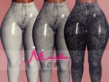 :.M.:Baddie Jeans BOM Stone FATPACK