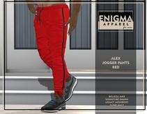 [EN] Alex Jogger Pants Red