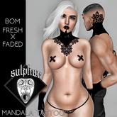 +SULPHUR+ MANDALA TATTOO BOM