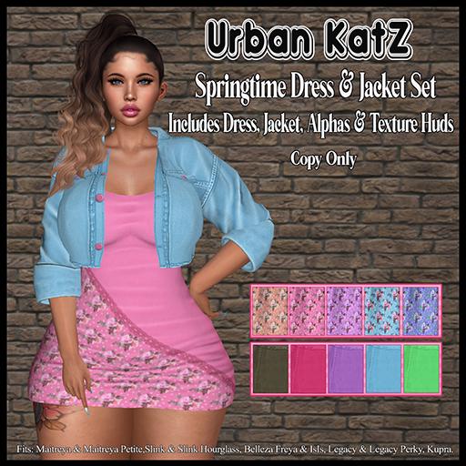 *Springtime Dress & Jacket (ADD)