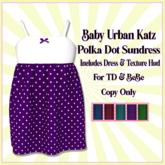 *Polka Dot Sundress-Add