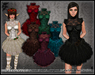 [Wishbox] Reveries (Megapack) - Mod Victorian Goth Babydoll Dolly Dress in 7 Colors