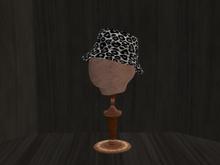 Ohana Bucket Hat Leopard White (WEAR TO UNPACK)