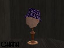 Ohana Bucket Hat Leopard Purple (WEAR TO UNPACK)