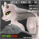 [ARTIFACT] Nomad EARS + TAIL