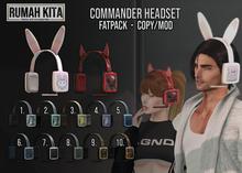 Rumah Kita - Commander Headset Fatpack