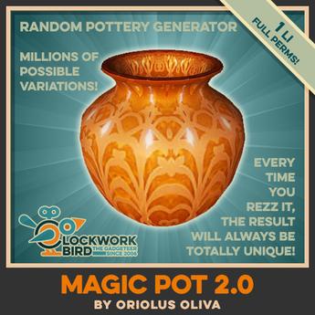 ★ NEW! ★ The Magic Pot v2.0 - Random pottery generator tool