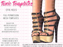 !!Toxic Templates - Effie Heels - Demos