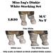 Miss Ing's Dinkie White Stocking Set BOM