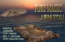 The Raft @ -60% OFF - Complete with animations, all in amazing total 5 prim! FAT PACK
