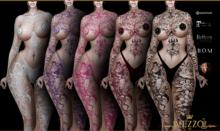 Elize Tattoo - Coloured Fatpack, Maitreya, Legacy, INTHIUM KUPRA, Belleza, Signature, Omega, BOM - Vezzo Ink