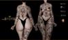Elize Tattoo - Black, single color, Maitreya, Legacy, INTHIUM KUPRA, Belleza, Signature, Omega, BOM - Vezzo Ink