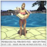 Prefabulicious - Floatie Hold Over Shoulder