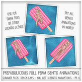 Prefabulicious - Summer Pack 1 Single Animations