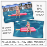 Prefabulicious - Summer Pack 3 Single Animations