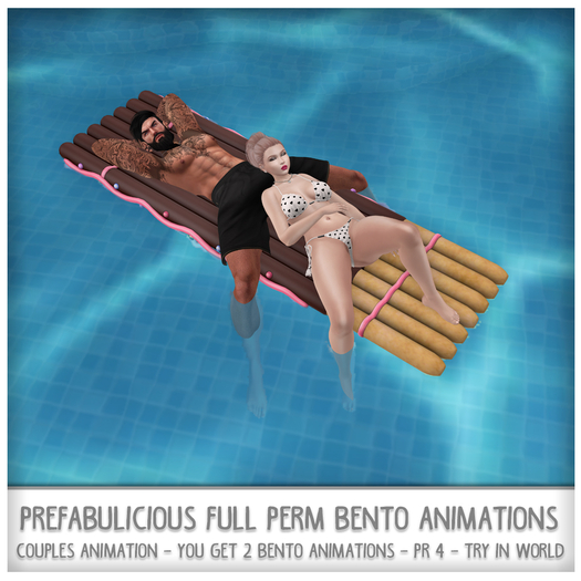 Prefabulicious - Summer Pack 5 Couples Animations 1