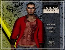 [EN] Matheus Shirt&Top Red
