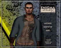 [EN] Matheus Shirt&Top Grey