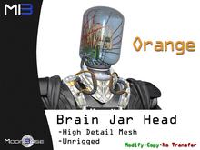 [MB3] Brain Jar Head - Orange