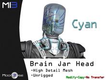 [MB3] Brain Jar Head - Cyan